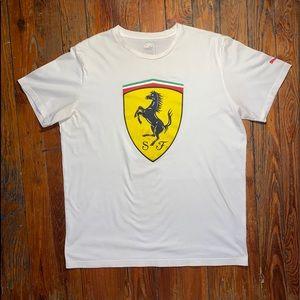 Puma x Ferrari Men's Big Shield T-Shirt